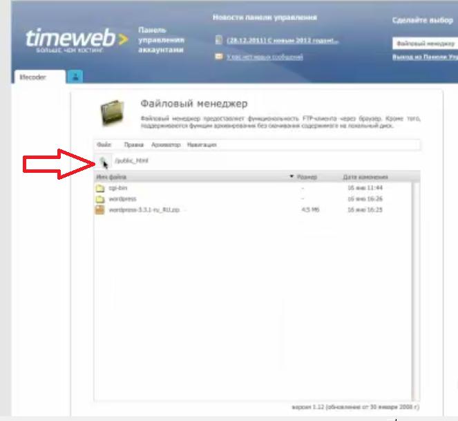 Timeweb 6
