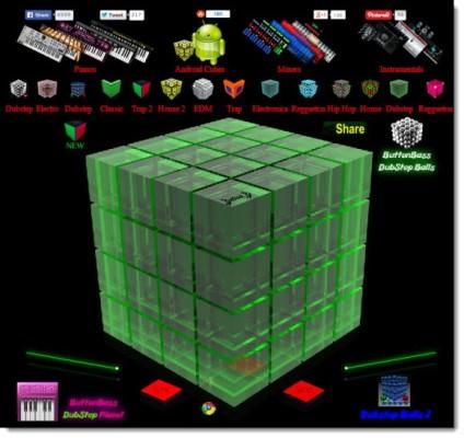 музыкальные кубики