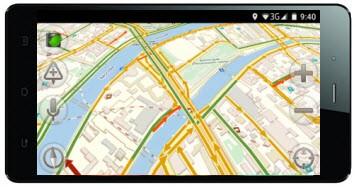 навигатор для смартфона на Андроид