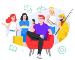 социальная сеть яндекса аура