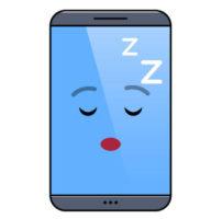 смартфон спит